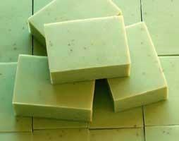 Handmade Lemon Rosemary Zest Soap