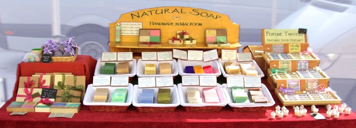 Natural Handmade Soap from Farmers Market to You